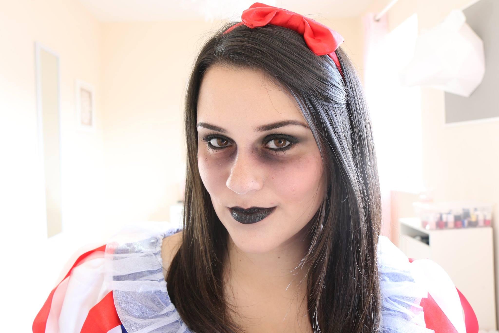 Vid o maquillage halloween blanche neige - Blanche neige halloween ...