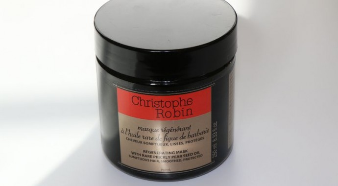 aujourdhui on parle cheveux et plus prcisment du clbre masque rgnrant lhuile rare de figue de barbarie de christophe robin - Christophe Robin Masque Colorant