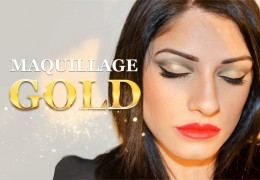 maquillage gold