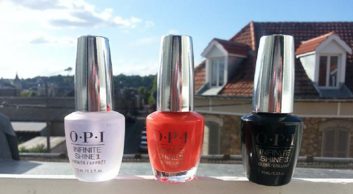 test avis  opi infinite shine