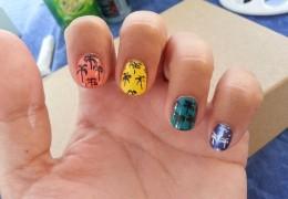 Tuto nail art facile été