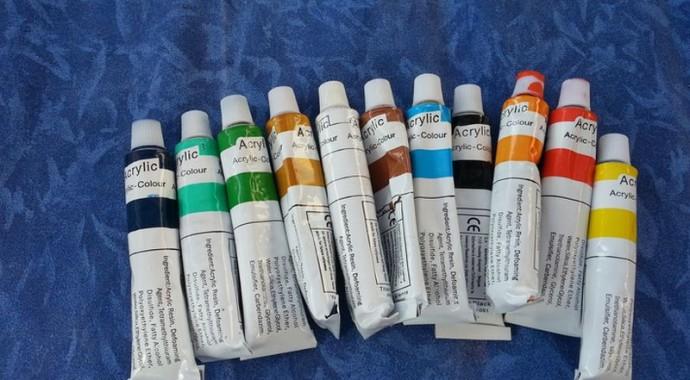 peinture pour nail art