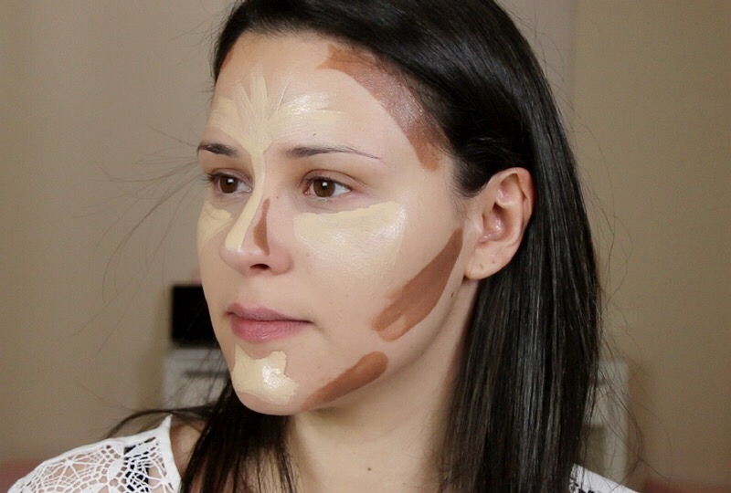 les techniques du contouring pour sculpter son visage. Black Bedroom Furniture Sets. Home Design Ideas