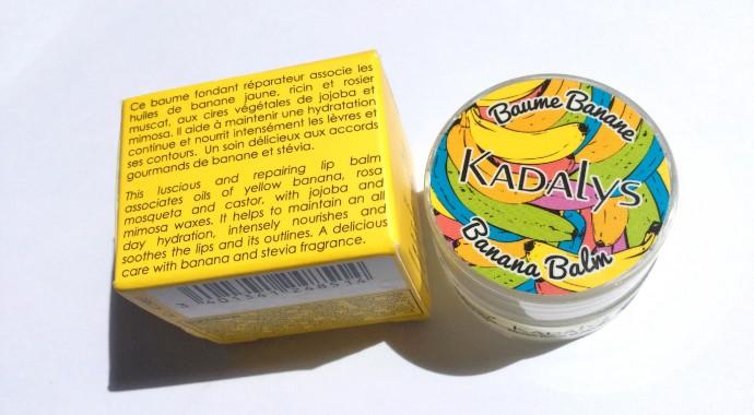 test baume à lèvres kadalys