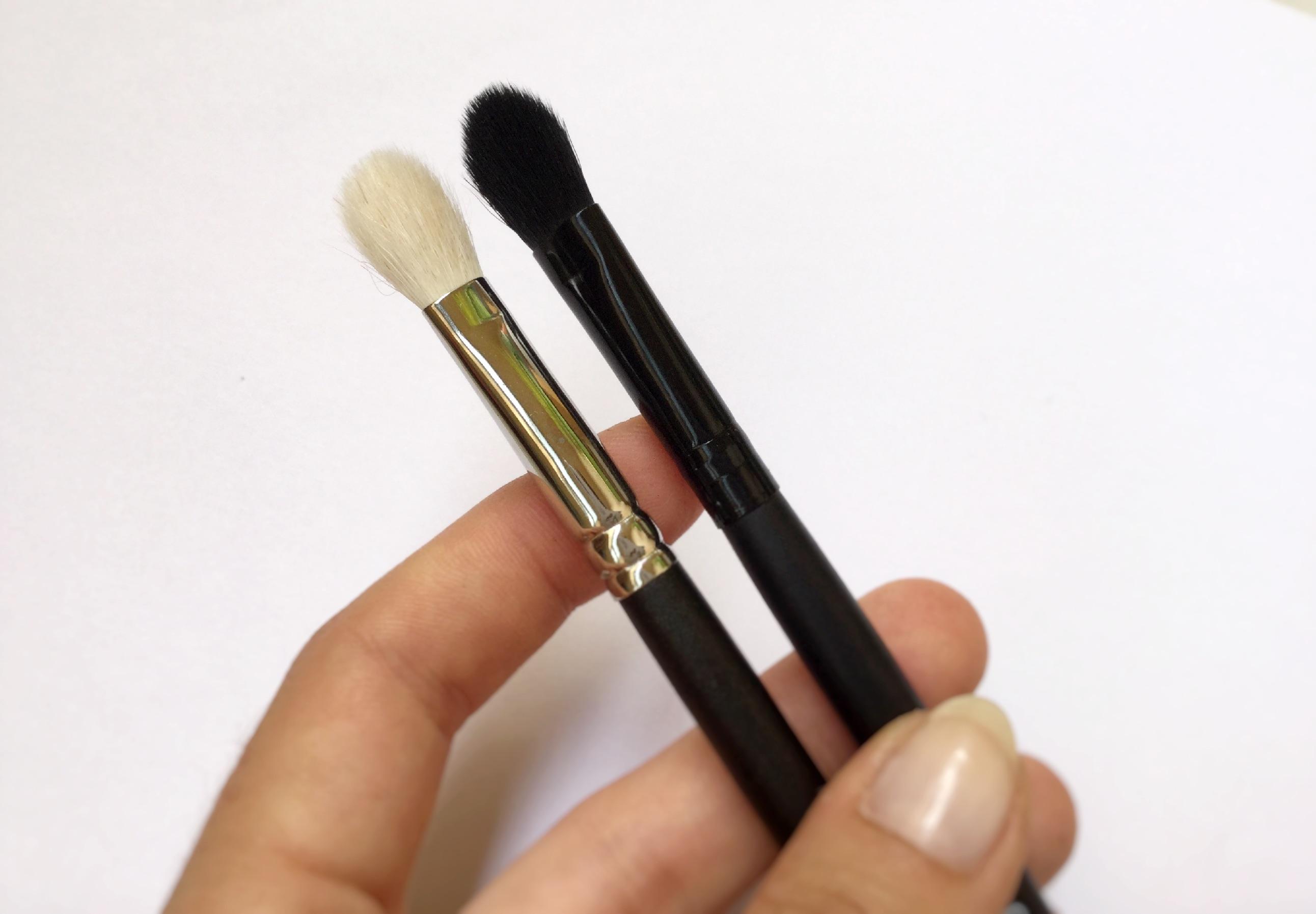 Battle pinceaux de luxe vs pinceaux pas cher elf - Pinceau de maquillage pas cher ...