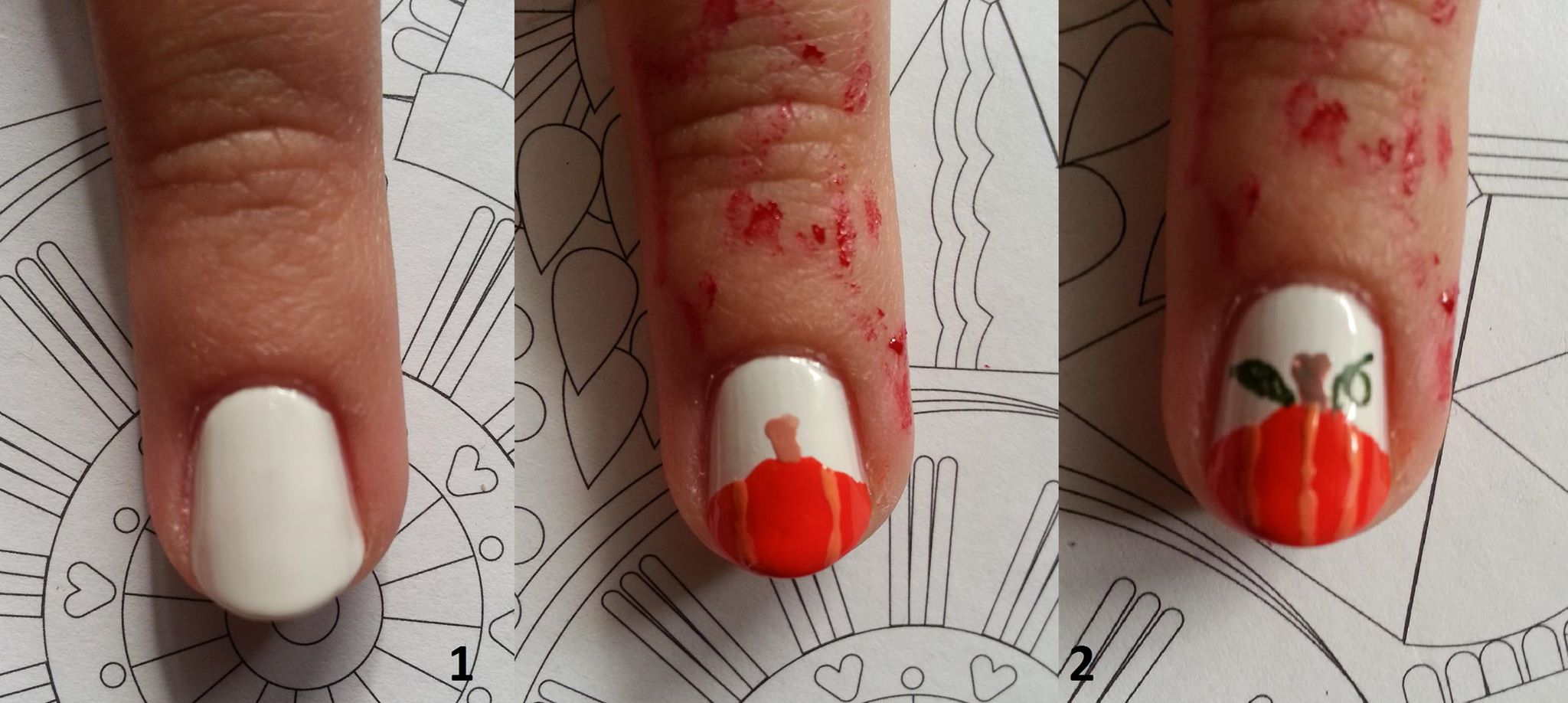 ongle pour halloween