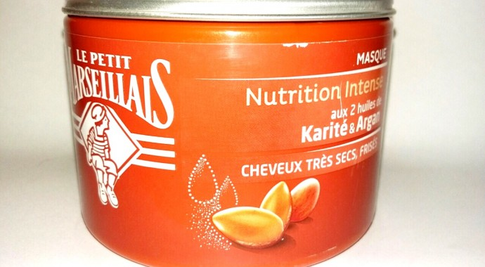 test e masque Nutrition Intense du Petit Marsellais
