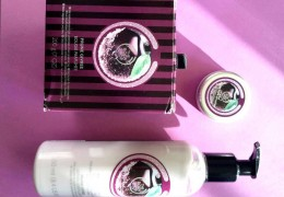 prune givrée noel the body shop