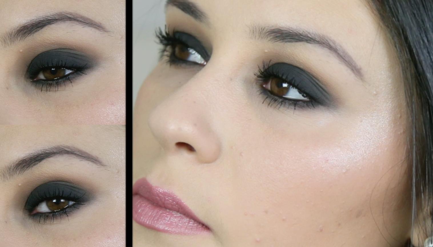 faire un maquillage yeux noir