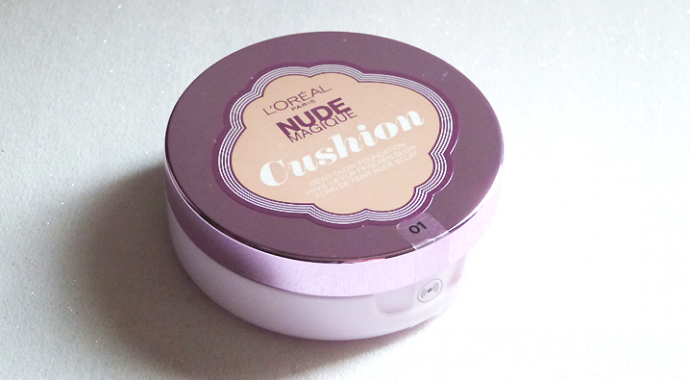 Fond de teint LOréal Nude Magique Cushion n°11 Ambre Doré