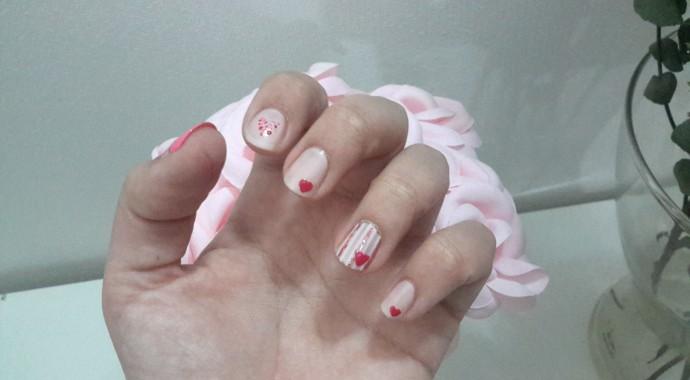 coeur vernis à ongles