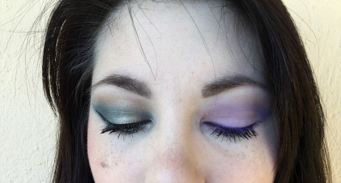 maquillage avec palette cool spectrum zoeva