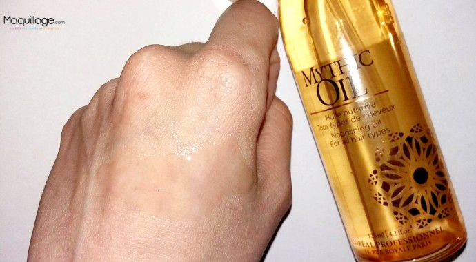 résultat mythic oil l'oreal
