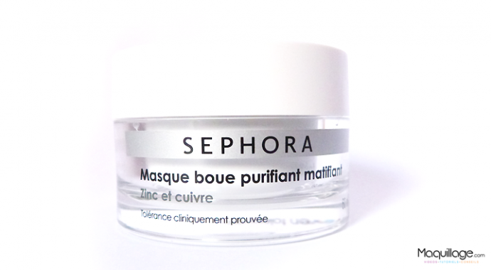 masque boue purifiant Sephora 2