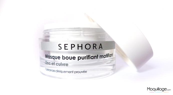 masque boue purifiant Sephora 4