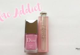 Je suis Lilac Addict avec Dior : Nouveau Lip Glow et vernis