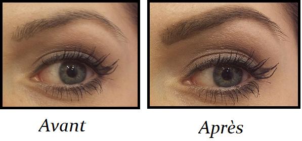 Aqua brow Montage