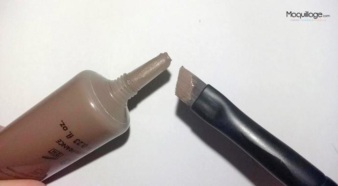 test aquabrow make up for ever