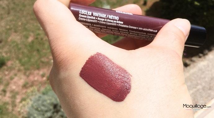 Rouge à lèvres Liquid Suede de Nyx 3