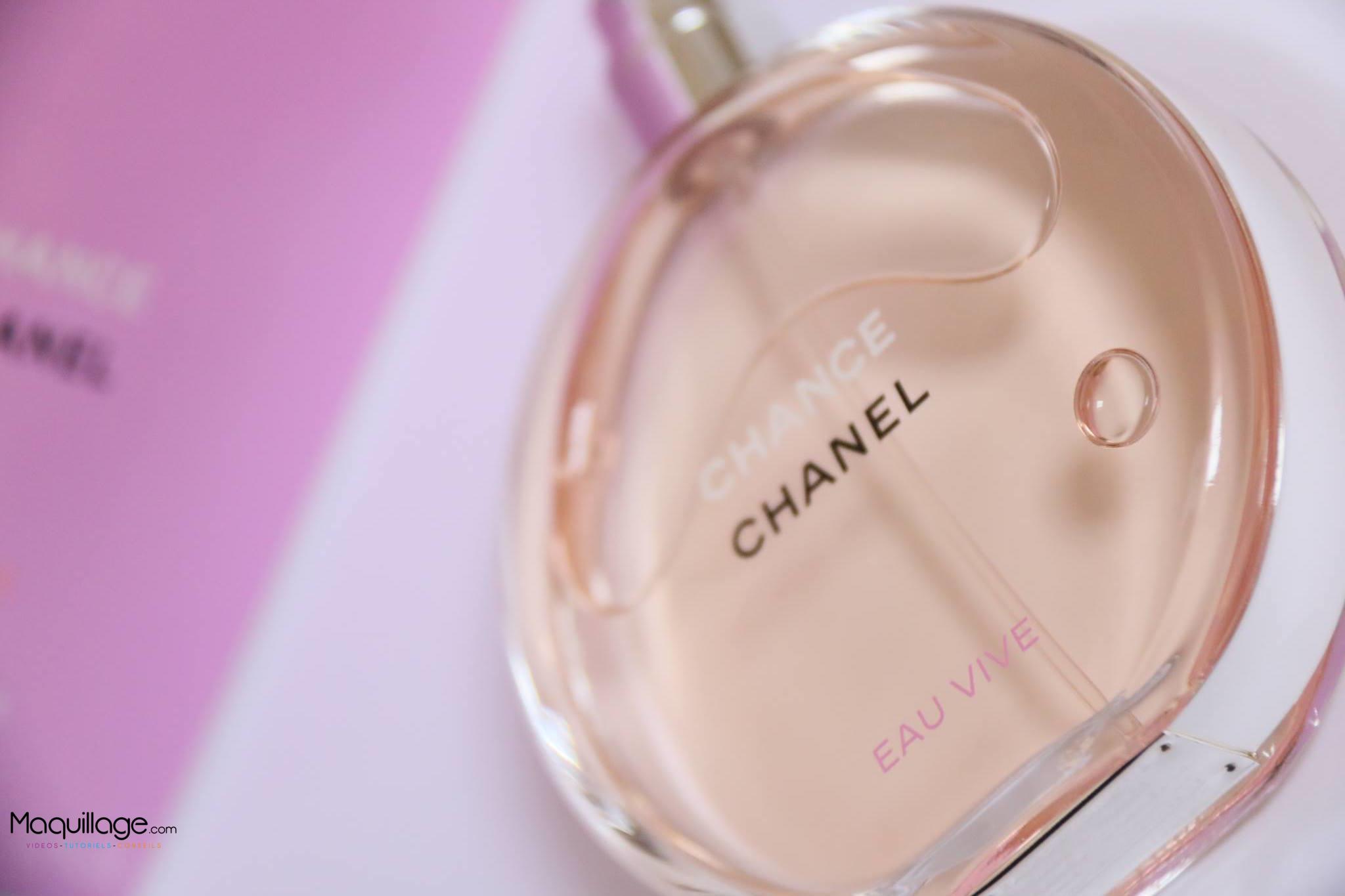 Chance Eau Vive de CHANEL : Un zeste de fraicheur
