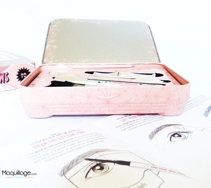 Nouvelle collection sourcils Benefit le kit Soft & Natural brows