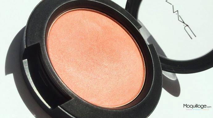 Revue : Le blush Modern Mandarin de Mac