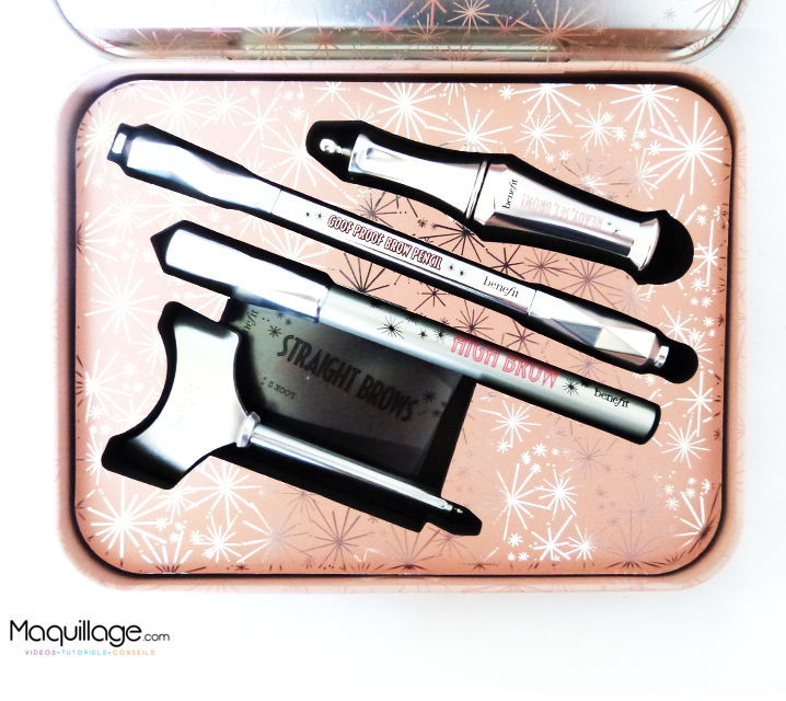 Nouvelle collection sourcils Benefit : le kit Soft & Natural brows