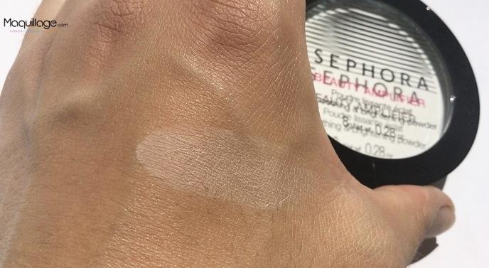 La poudre lissante éclat de Sephora