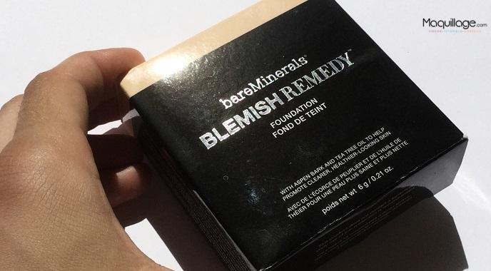 Le fond de teint Blemish Remedy de bareMinerals