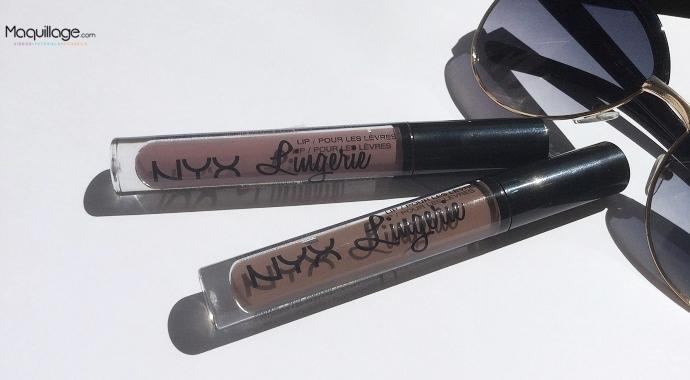 Les Lip Lingeries de NYX : On craque ou pas ?