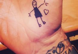 tatouages de stars
