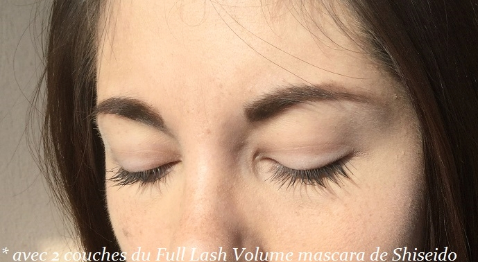 Full Lash volume mascara de Shiseido test et avis