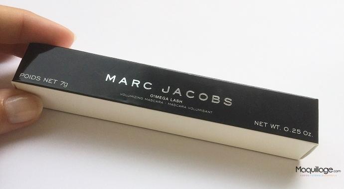 Le mascara Oméga Lash de Marc Jacobs : Mention très bien