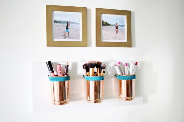 25 id es pour ranger votre maquillage. Black Bedroom Furniture Sets. Home Design Ideas