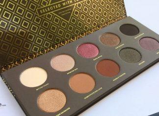 Zoom sur la palette Cocoa Blend de Zoeva