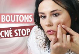 boutons acné stop