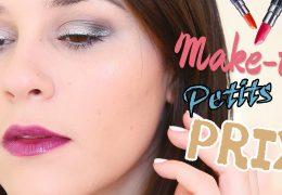 makeup petit prix