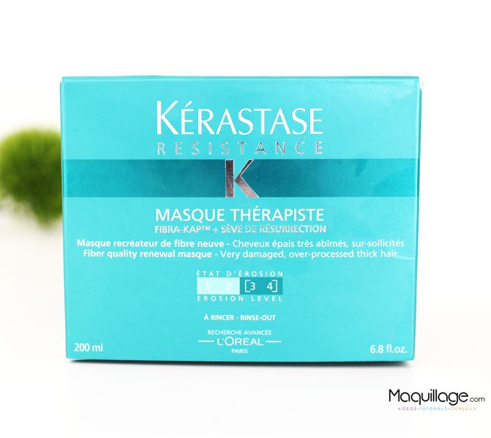 Le masque thérapiste de kérastase : celui qui a sauvé mes cheveux