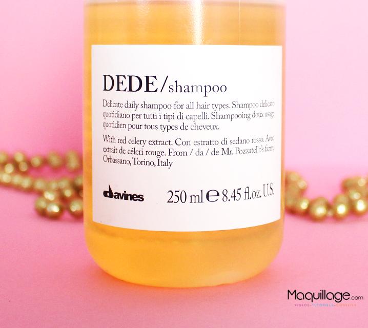 le shampoing Dede Davines