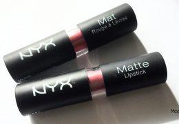 Zoom sur les Matte Lipsticks de NYX