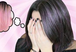 teinture cheveux pastel