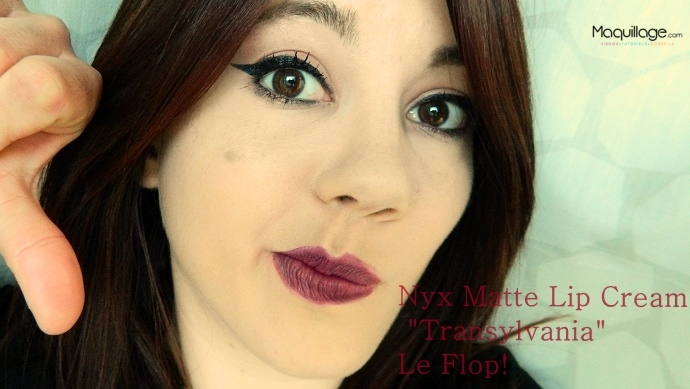 Soft Matte Lipsticks de NYX flop