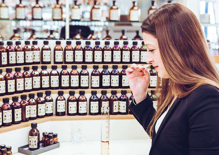 composition d'un parfum