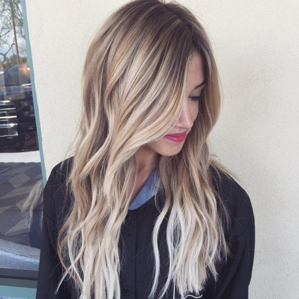 Differente couleur de meche pour cheveux
