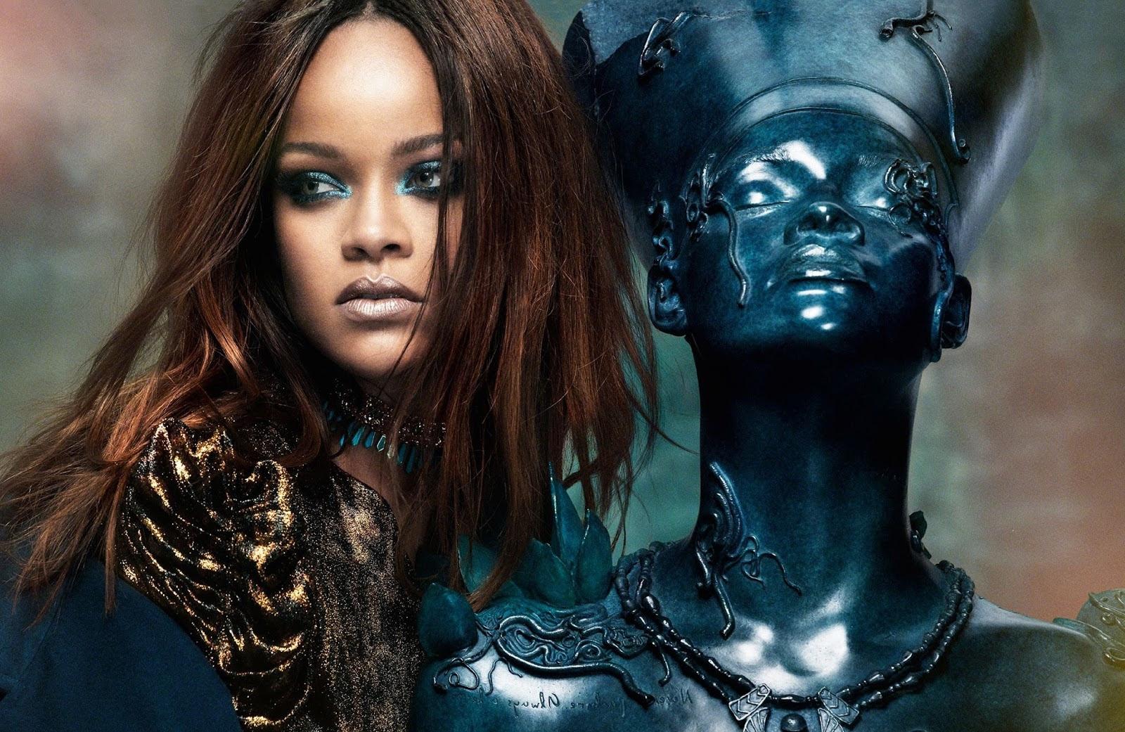 f515276cf37986 Les plus belles photos de Rihanna - Maquillage.com