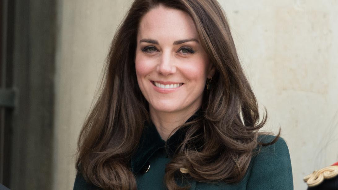 Le Secret Du Brushing De Kate Middleton