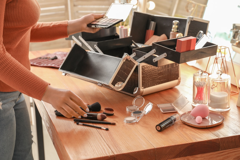 Mallette de maquillage