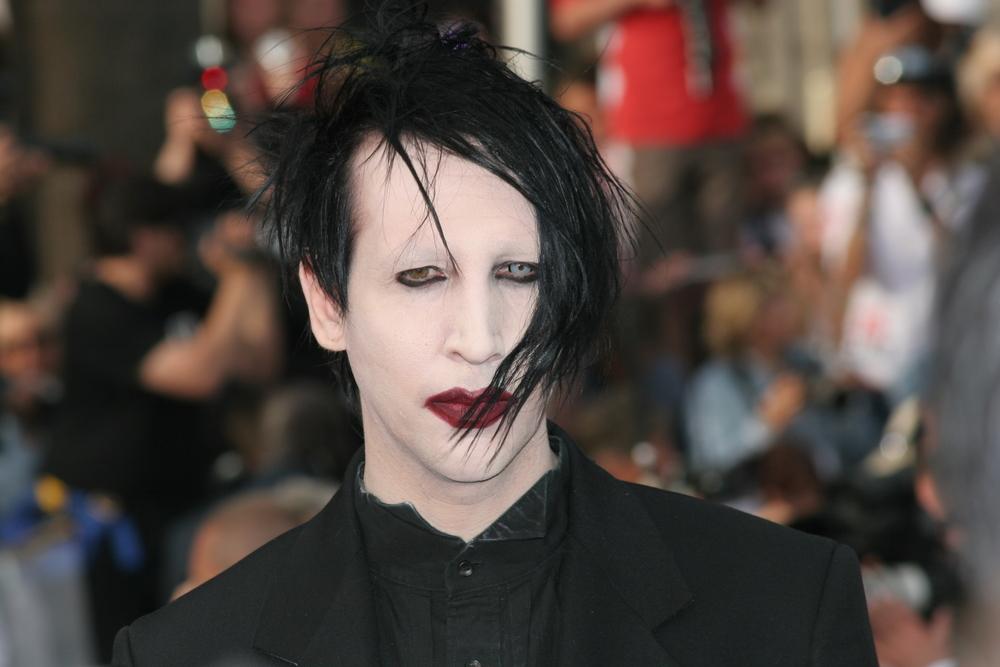 Marylin Manson sans maquillage photos