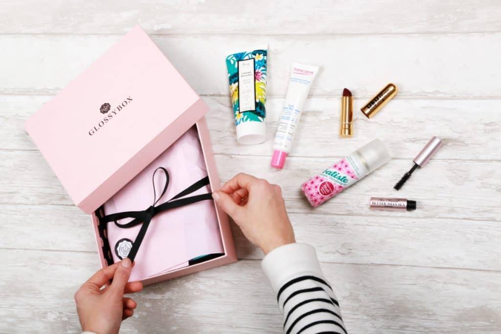 glossybox box maquillage