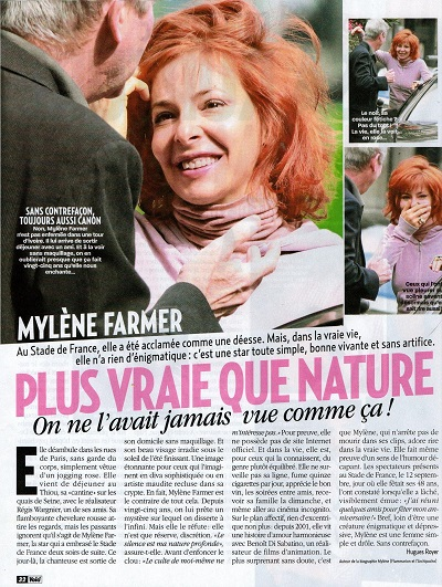 mylène farmer sans maquillage